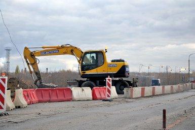 Строительство путепровода